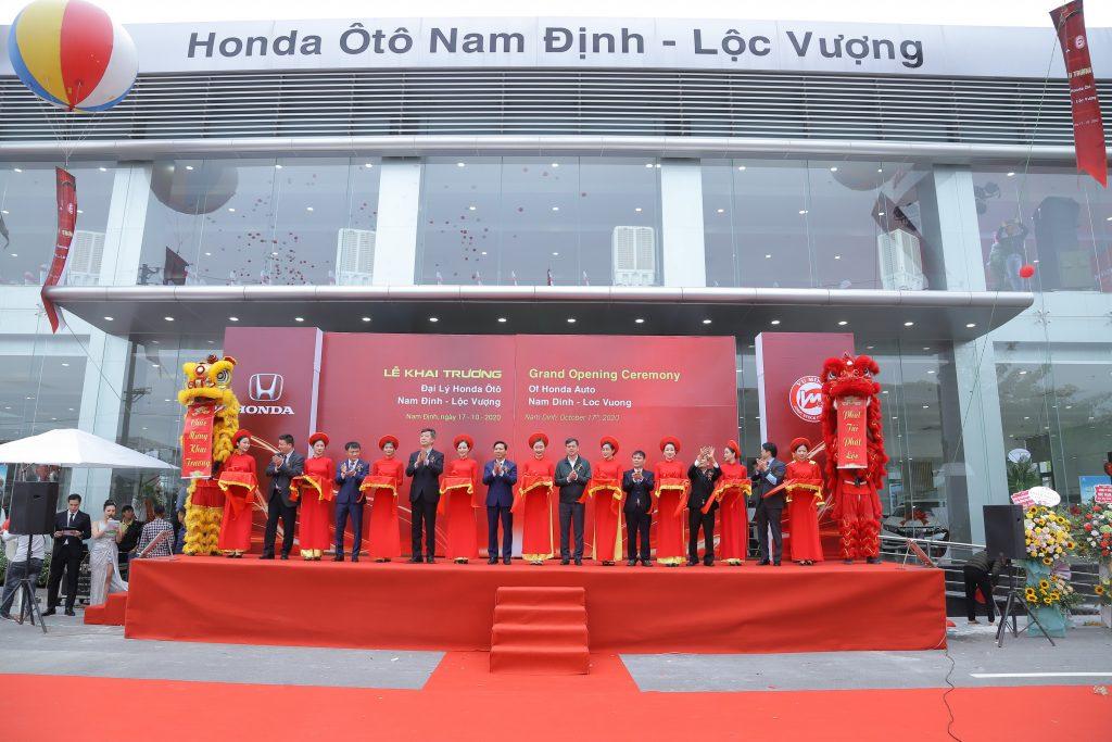 Khai trương Honda ô tô Nam Định - Lộc Vượng